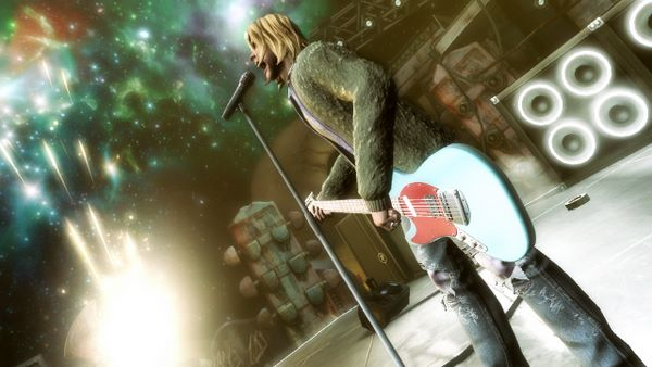 Kurt Cobain in Guitar Hero 5