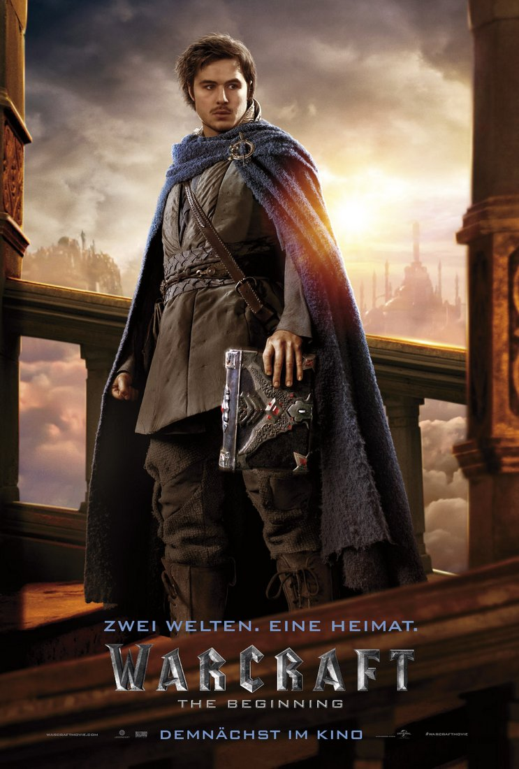 Warcraft: The Beginning Charakterposter Khadgar 01