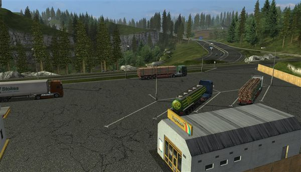 German Truck Simulator 09