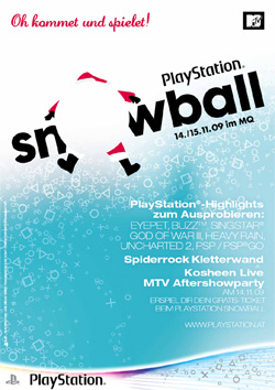 PlayStation Snowball Event
