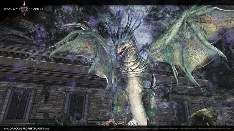At the end of the Silia Shrine Dungeon players will fight this icy dragon