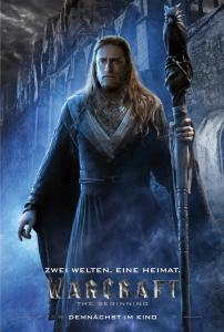 Warcraft: The Beginning Charakterposter Medivh 01