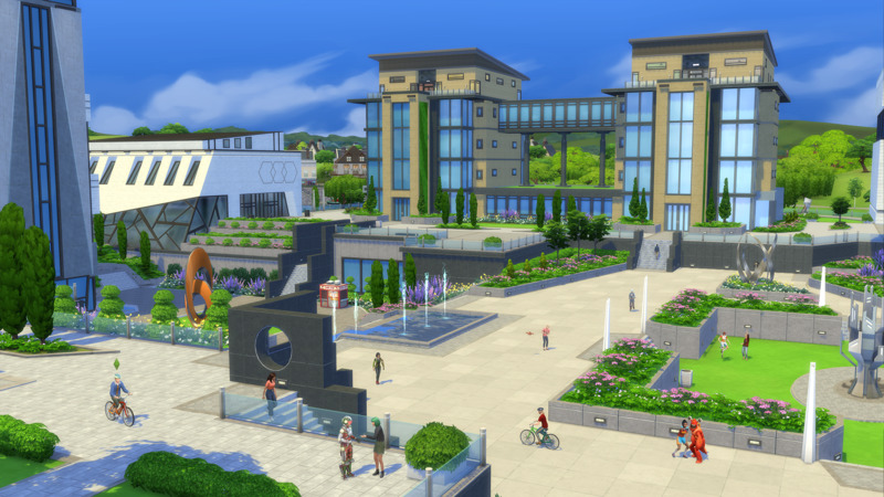Die Sims 4 - An die Uni Test